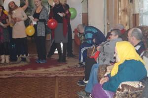Праздник для пожилых людей в пос.Уральский