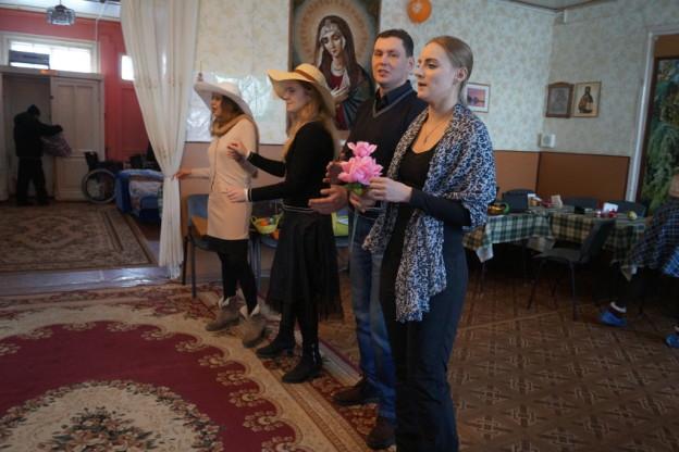 День Матери в доме-приюте «Милосердие»