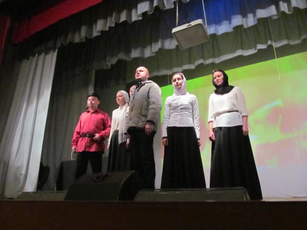 Выездной спектакль молодёжного православного театра «Странник»