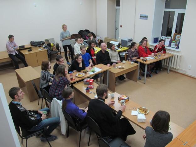 Лекция православного психолога в офисе «Православной молодёжи Удмуртии»